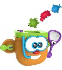 Игрушка для ванны kidz delight корзинка рыбака 1Toy т10501