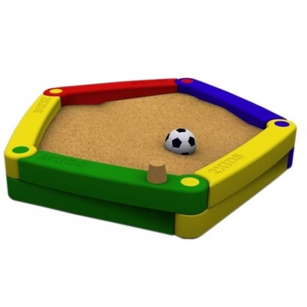 Детская песочница 2KIDS из 5-ти элементов