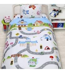 Детское постельное белье Robocar poli
