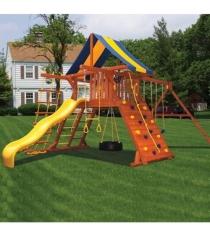 Детские площадки из дерева Американские игровые системы зарница...