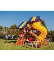 Детские площадки из дерева Американские игровые системы техасец 5,5...