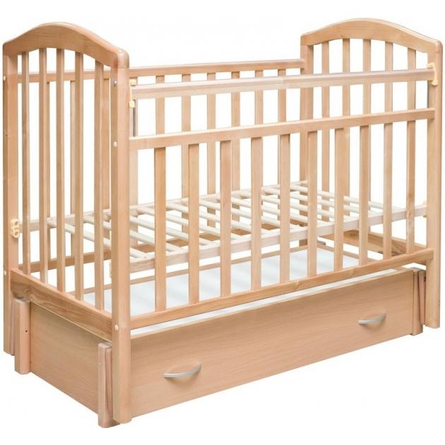 Кроватка для новорожденных Антел алита 6 Бук