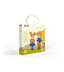 Набор для творчества Arti лучшие друзья ира и витя Г000694