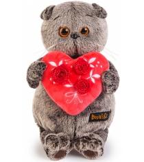 Мягкая игрушка Budi basa Басик с красным сердечком Ks22-060