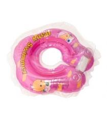 Круг розовый полуцвет BabySwimmer