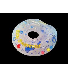 Круг прозрачный полноцветный внутри погремушка BabySwimmer