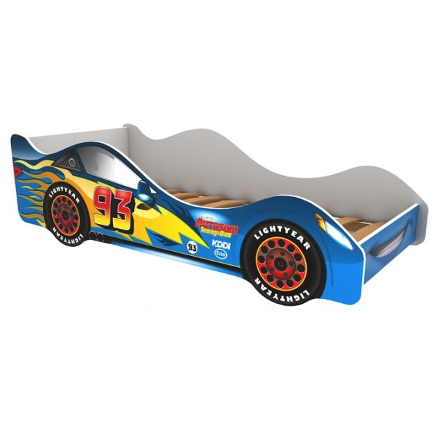 Кровать машина Бельмарко Тачка синяя