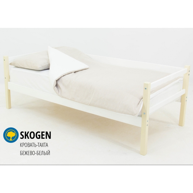 Детская кровать тахта Бельмарко Svogen бежево белый