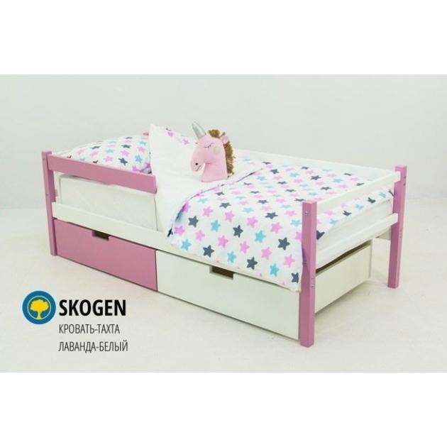 Детская кровать тахта Бельмарко Svogen лаванда белый