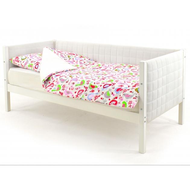 Детская кровать-тахта мягкая Бельмарко Svogen белый