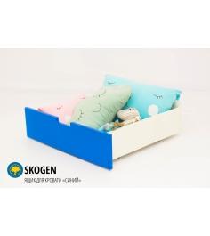 Ящик для кровати Бельмарко Skogen classic синий