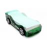 Кровать-машина Бельмарко Супра зеленая