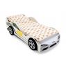Кровать-машина Бельмарко Супра белая
