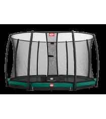 Батут Berg InGround Favorit с защитной сеткой safety Net Deluxe 270 см