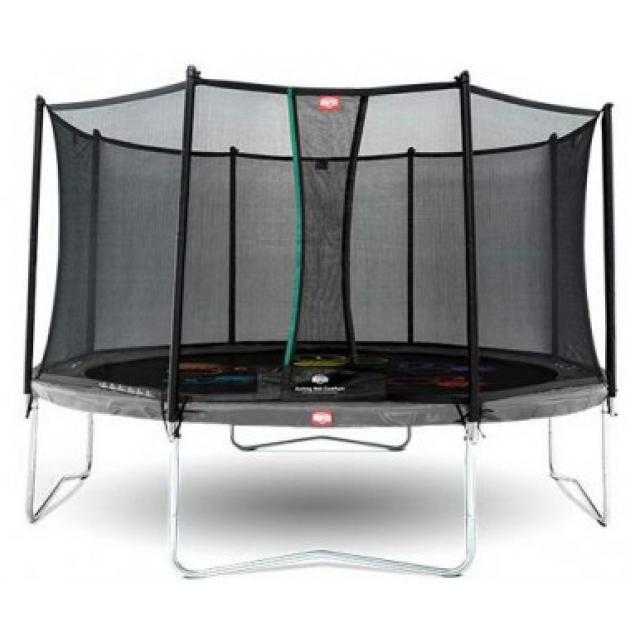 Батут BERG Favorit Regular 430 Grey Levels+защитная сетка Safety Net Comfort