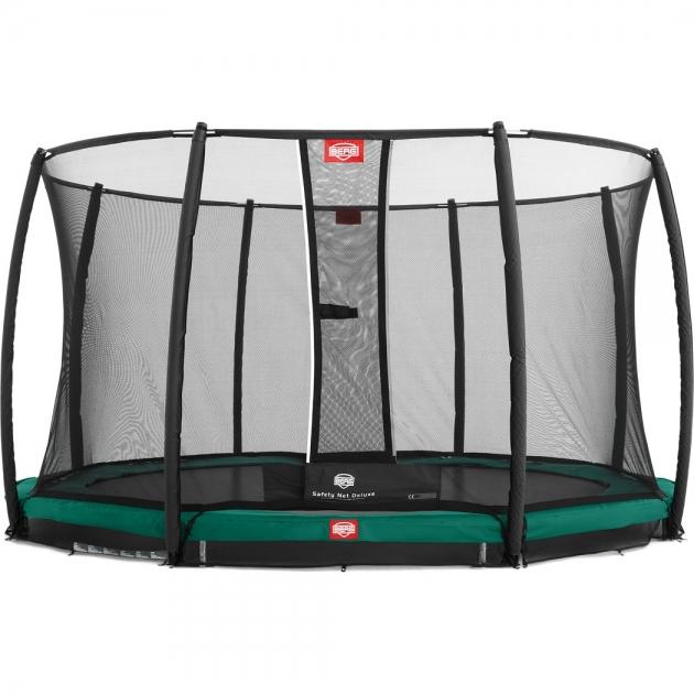 Батут BERG InGround Champion Green 330+ Safety Net Comfort