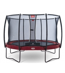 Каркасный батут Berg Elite + Regular + Safety Net T-series 330 см Red 37.11.81.0...