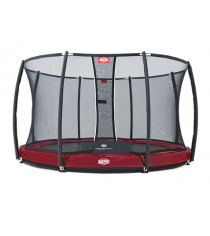 Батут Berg Elite InGround Red 330 с защитной сеткой Safety Net T series 330