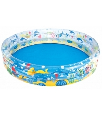 Детский круглый бассейн BestWay Подводный мир 51004 BW