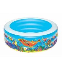Надувной бассейн BestWay Подводный мир 229х56 см