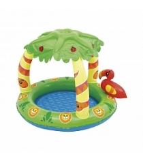 Детский бассейн с навесом BestWay Джунгли 52179 BW