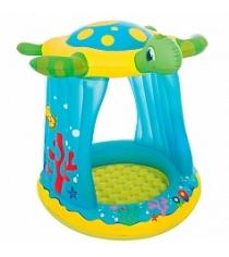 Надувной бассейн с навесом BestWay Черепашка 52219 BW