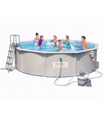 Стальной бассейн BestWay Hydrium Pool Set 56384 BW