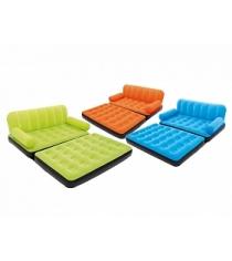 Надувной диван кровать BestWay Multi Max Air Couch With Sidewinder AC Air Pump 67356 BW