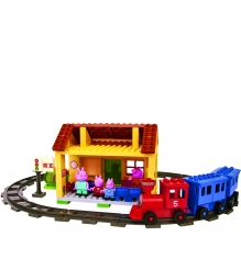 Классический конструктор BIG PlayBIG BLOXX 800057079 Железнодорожная станция