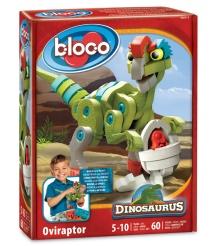 Конструктор Bloco Динозавр Овираптор 30111