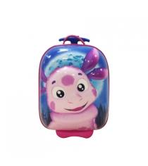 Детский чемодан Bouncie 3D Лунтик B001