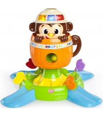Развивающая игрушка Bright Stars Обезьянка в бочке...