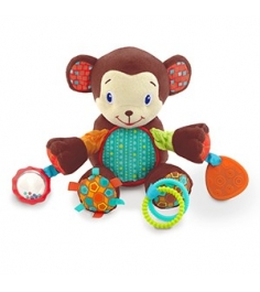 Развивающая игрушка Bright Starts Море удовольствия, Обезьянка 8814-4...