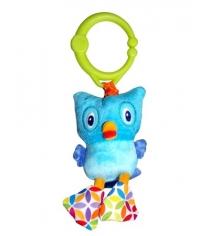 Развивающая игрушка Bright Starts Дрожащий дружок, Сова 8808-6