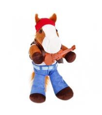 Мягкая игрушка Button Blue конь гитарист 40 12 0155