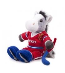 Мягкая игрушка Button Blue конь хоккеист 40 12 0159