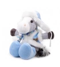 Мягкая игрушка Button Blue конь Яшка в ушанке 40 12 0163...
