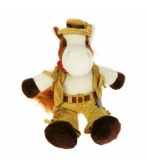 Мягкая игрушка Button Blue конь ковбой 40 12 0156