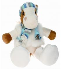 Мягкая игрушка Button Blue конь Яшка Лиза в шапочке 40 12 0164...