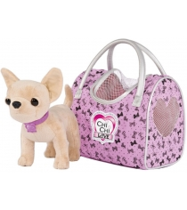 Мягкая игрушка Simba Chi Chi Love Чихуахуа путешественница 5892276