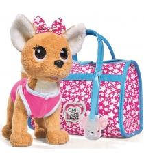 Мягкая игрушка Simba звездный стиль с сумочкой Chi Chi Love 5893115