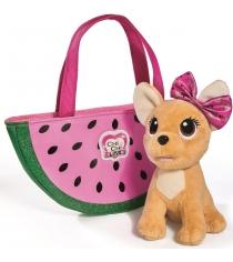 Мягкая игрушка Simba Chi Chi Love фруктовая мода с сумочкой 5893116