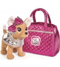 Мягкая игрушка Simba Chi Chi Love Гламур с розовой сумочкой и бантом 5893125...