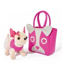 Собачка Chi Chi Love Чихуахуа с розовой сумкой 5897403