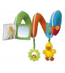 Игрушка-подвеска Chicco Утёнок для прогулочной коляски 21190...