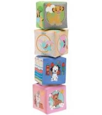 Игрушка Chicco Кубики мягкие Disney 75180