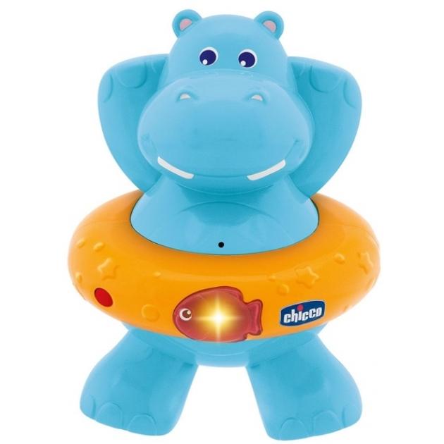 Игрушка для ванны Chicco Счастливый бегемотик 70306