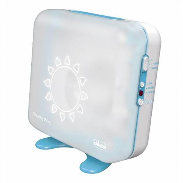 Очиститель ионизатор воздуха Chicco Breathy Blue