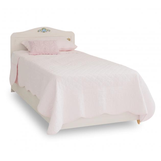 Кровать для девочки Flora с базой Single Bed Base 20.01.1705.01