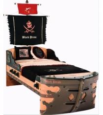 Кровать корабль Cilek Black Pirate